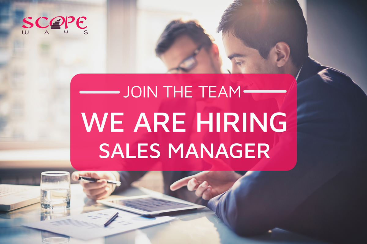 We Are Hiring! Regional Sales Manager